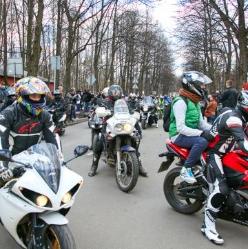 Мотоциклетные парковки