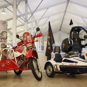 "Custom&Tuning Show Sidecar Edition на ""Мотозиме""!"